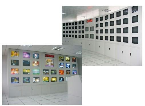 电视监控墙_idc机房建设|电视机房项目建设总包|机房